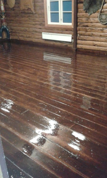 nylakeret gulv